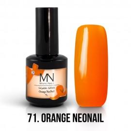 Gel Polish 71 - Orange NeoNail 12ml
