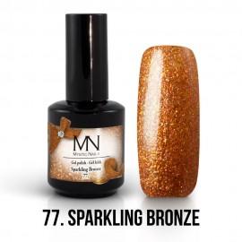 Gel Polish 77 - Sparkling Bronze 12ml