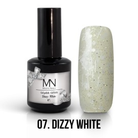 Gel Polish Dizzy 07 - Dizzy White 12ml