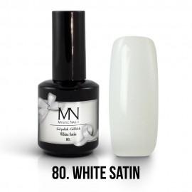 Gel Polish 80 - White Satin 12ml