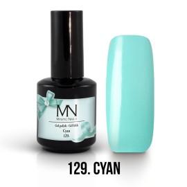Gel Polish 129 - Cyan 12ml