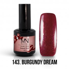 Gel Polish 143 - Burgundy Dream 12ml