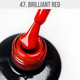 Gel Polish 47 - Brilliant Red 12ml