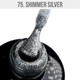 Gel Polish 75 - Shimmer Silver 12ml
