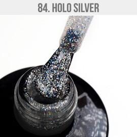 Gel Polish 84 - Holo Silver 12ml
