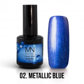Gel Polish Metallic 02 - Metallic Blue 12ml