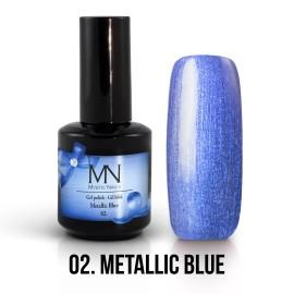 Gel Polish Metallic 02 - Metallic Blue 12ml