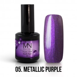 Gel Polish Metallic 05 - Metallic Purple 12ml
