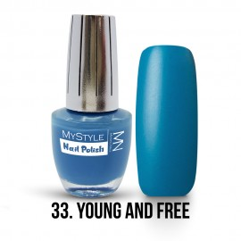 MyStyle Nail Polish - 033. - Young & Free - 15ml