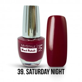 MyStyle Nail Polish - 039. - Saturday Night - 15ml
