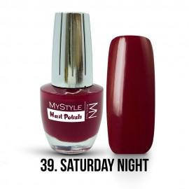 MyStyle Nail Polish - 039. - Saturday Night - 15ml