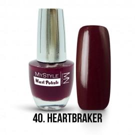 MyStyle Nail Polish - 040. - Heartbreaker - 15ml