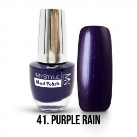 MyStyle Nail Polish - 041. - Purple Rain - 15ml