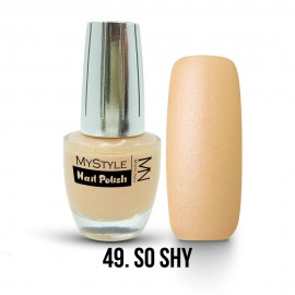 MyStyle Nail Polish - 049. - So Shy - 15ml