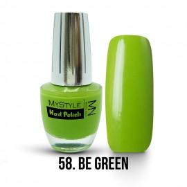 MyStyle Nail Polish - 058. - Be Green - 15ml