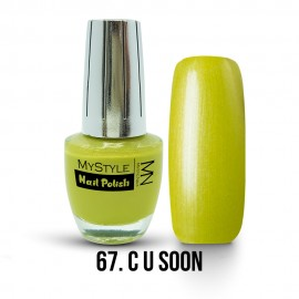 MyStyle Nail Polish - 067. - C U Soon - 15ml