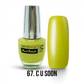 MyStyle Nail Polish - 067. - C U Soon - 15ml