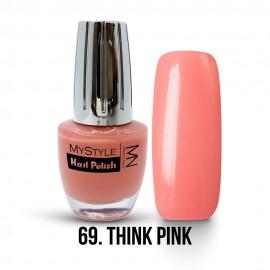 MyStyle Nail Polish - 069. - Think Pink - 15ml