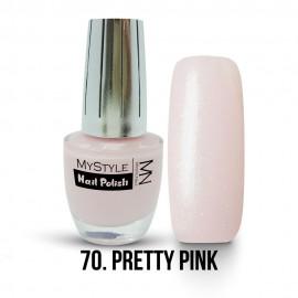 MyStyle Nail Polish - 070. - Pretty Pink - 15ml
