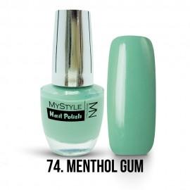 MyStyle Nail Polish - 074. - Menthol Gum - 15ml