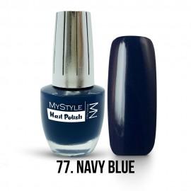 MyStyle Nail Polish - 077. - Navy Blue - 15ml