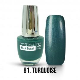 MyStyle Nail Polish - 81. - Turquoise - 15ml