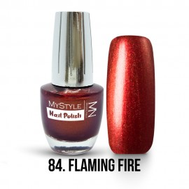 MyStyle Nail Polish - 084. - Flaming Fire - 15ml
