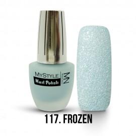 MyStyle Nail Polish - 117. - Frozen Blue - 15ml
