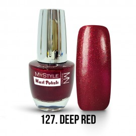 MyStyle Nail Polish - 127. - Deep Red - 15ml