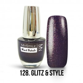 MyStyle Nail Polish - 128. - Glitz & Style - 15ml
