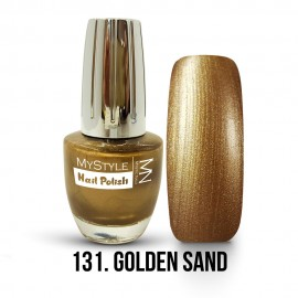 MyStyle Nail Polish - 131. - Golden Sand - 15ml