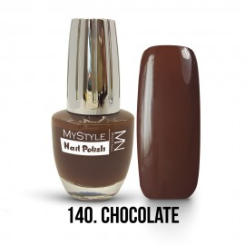 MyStyle Nail Polish - 140. - Chocolate - 15ml