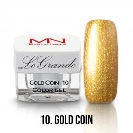 LeGrande Color Gel - no.10. - Gold Coin - 4g