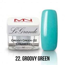 LeGrande Color Gel - no.22. - Groovy Green - 4g