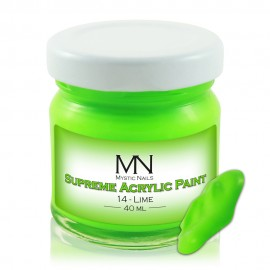 Supreme Acrylic Paint - no.14. Lime - 40ml