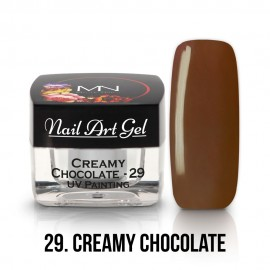 UV Painting Nail Art Gel - 29 - Creamy Chocolate - 4g