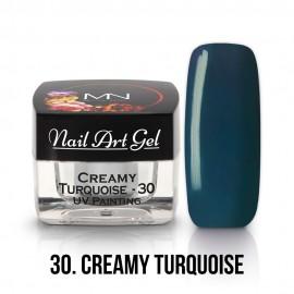 UV Painting Nail Art Gel - 30 - Turquoise - 4g