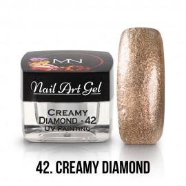 UV Painting Nail Art Gel - 42 - Creamy Diamond - 4g