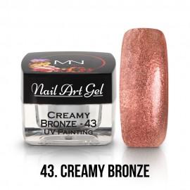 UV Painting Nail Art Gel - 43 - Creamy Bronze - 4g