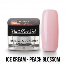 UV Painting Nail Art Gel - Ice Cream - Peach Blossom - 4g