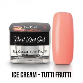 UV Painting Nail Art Gel - Ice Cream - Tutti Frutti - 4g