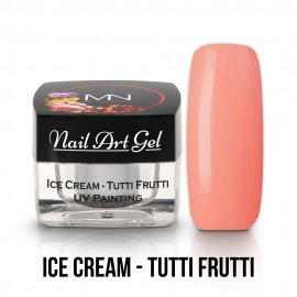 UV Painting Nail Art Gel - Ice Cream - Tutti Frutti - 4g