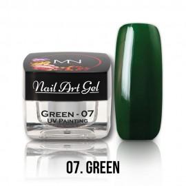 UV Painting Nail Art Gel - 07 - Green - 4g
