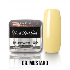 UV Painting Nail Art Gel - 09 - Mustard - 4g