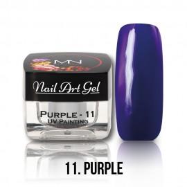UV Painting Nail Art Gel - 11 - Purple - 4g