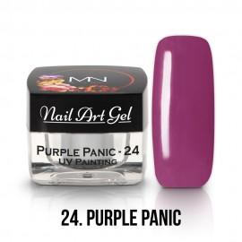 UV Painting Nail Art Gel - 24 - Purple Panic - 4g