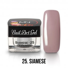 UV Painting Nail Art Gel - 25 - Siamese - 4g