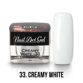 UV Painting Nail Art Gel - 33 - Creamy White - 4g