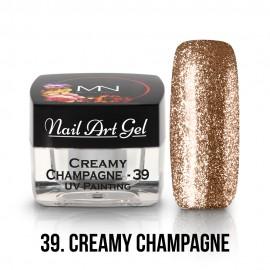 UV Nail Art Gel - 39 - Creamy Champagne - 4g