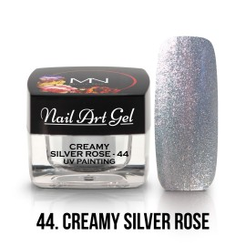 UV Painting Nail Art Gel - 44 - Creamy Silver Rose - 4g